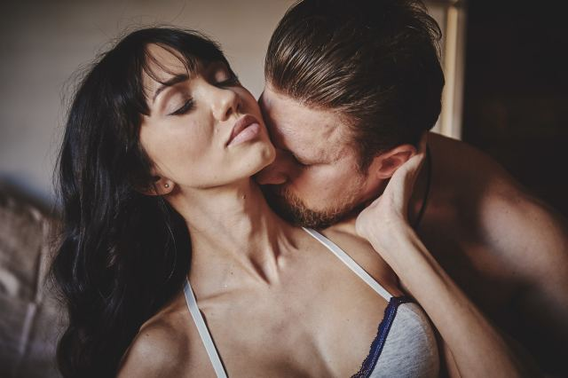 Pärchen beim Küssen