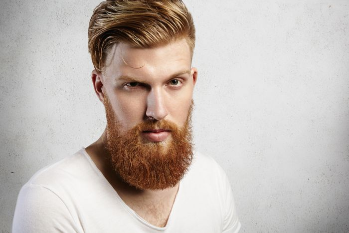 Bearded red-hair man