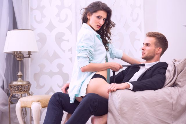 husband cucking his wife with handsome man