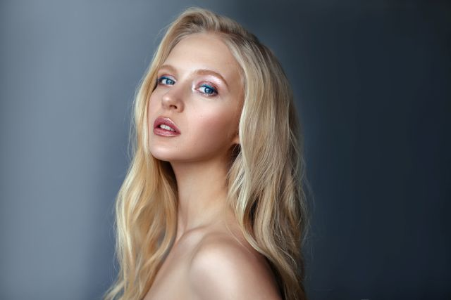 Sensual Norwegian blond girl
