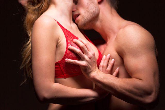 hot couple taking things slowly