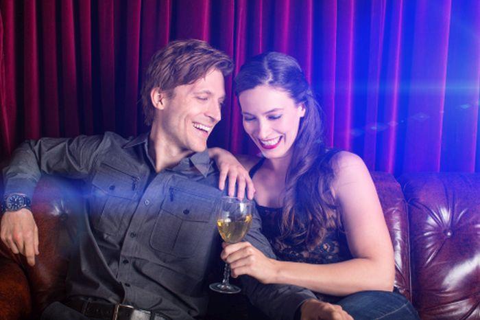 couple having fun on their date
