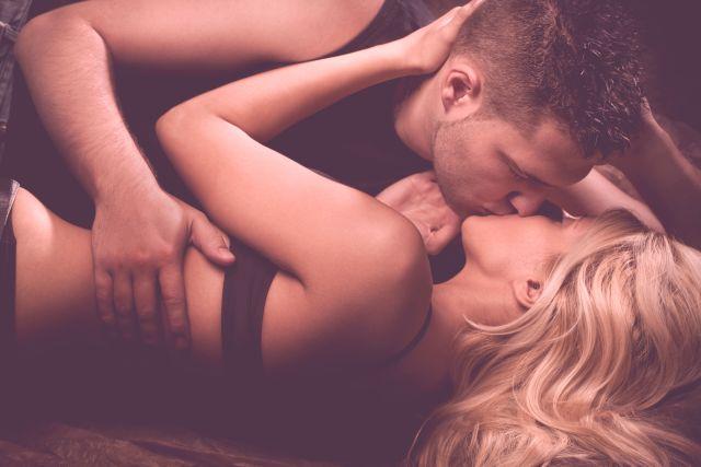 lovely couple having sweet vanilla sex