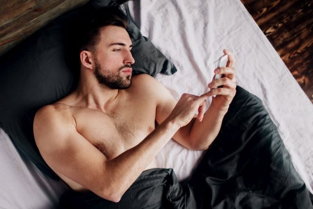 handosme man finding online the perfect cheating partner