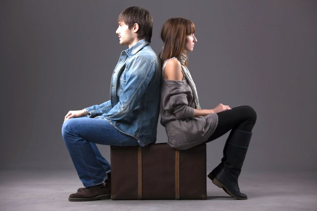 couple after break-up