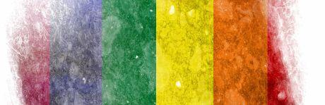 regnbuen blir ofte brukt som symbol av homofile personer