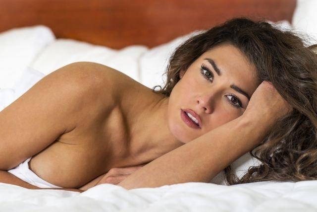 attraktive Frau Ready fürs Sextreffen