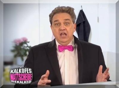 Oliver Kalkofe in seiner Show Kalkofes Mattscheibe Rekalked