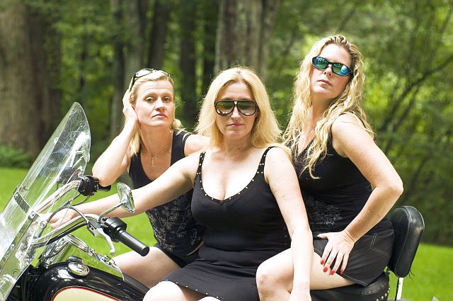 MILF, Cougar and Puma together going on a ride