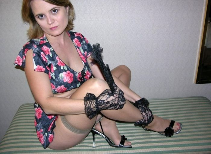 Hot cougar woman waiting for her cub