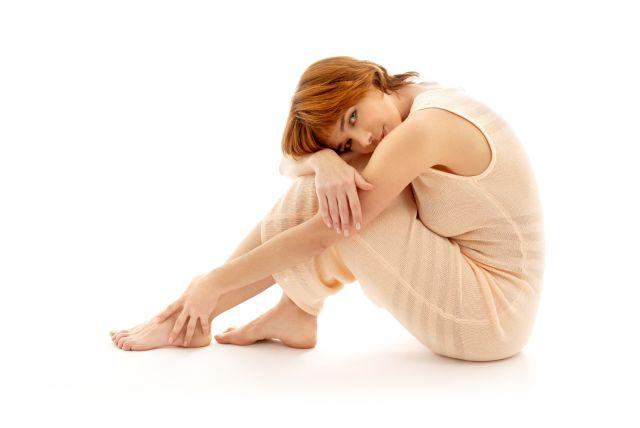 Entspannte Frau