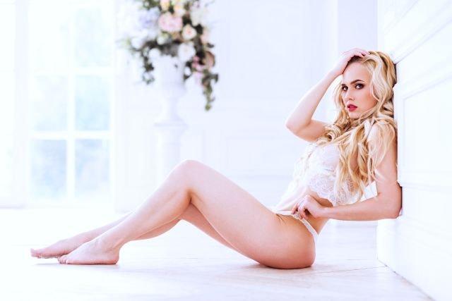 geile Blonde aus der Sex suche