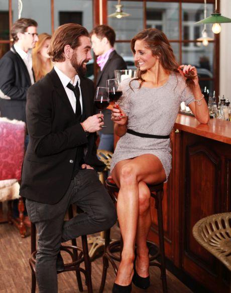 Eisbrecher beim flirten der erste satz