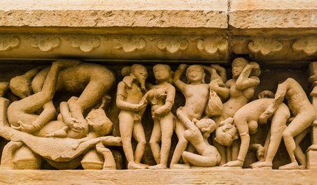 Relief des antiken Rudelbumnsens