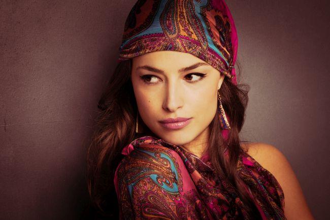 Orientalische Frau