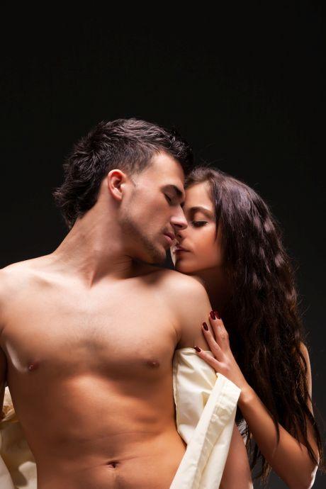 Heißes leidenschaftliches Paar