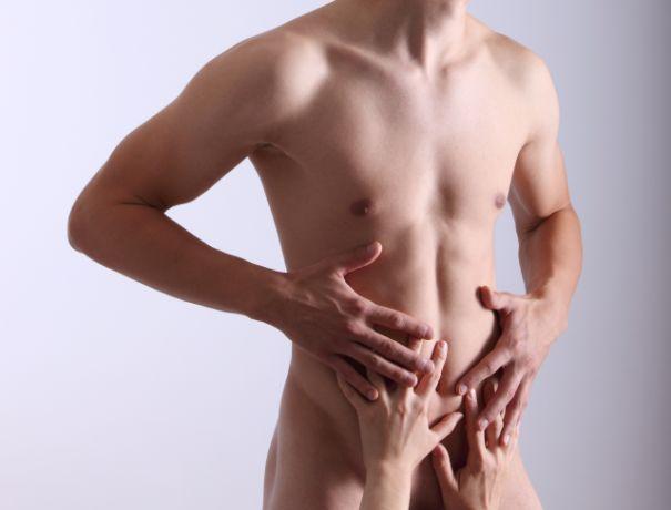 Nackter Männerkörper