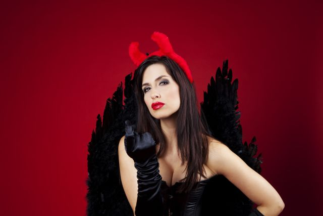 Der sexy Teufel verführt Dracula Stefan