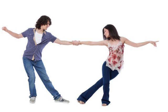 Tanzpartner flirten