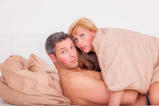 Paar wird beim Sex erwischt