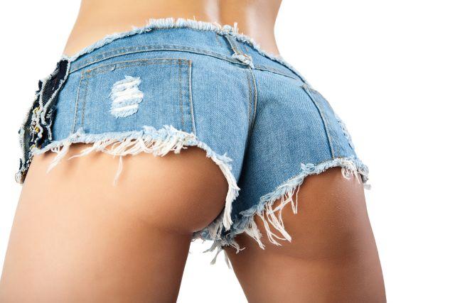 Heißer Hintern in knapper Shorts