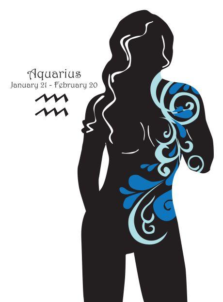 Grafik für Wassermannsternzeichen