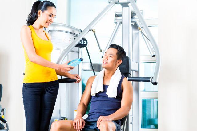 Im fitnessstudio mann kennenlernen