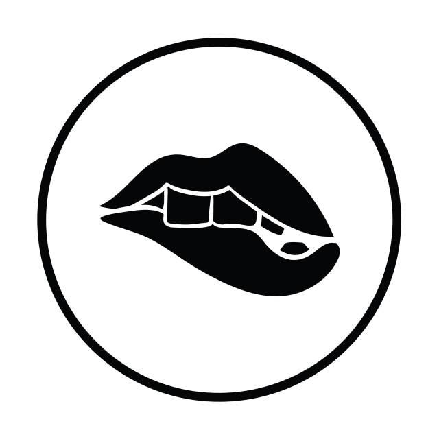 Sexy Lippen Icon