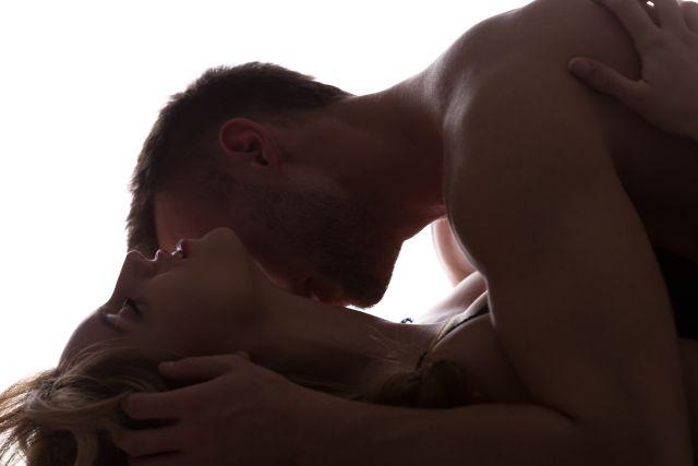 Leidenschaftliches Paar