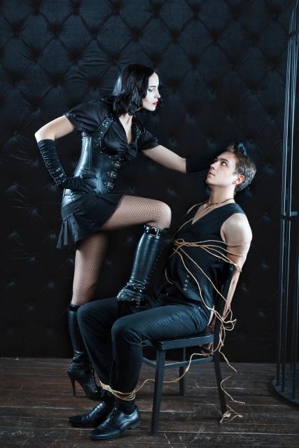 Paar BDSM Session